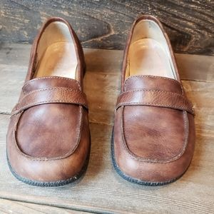 Keen leather loafers